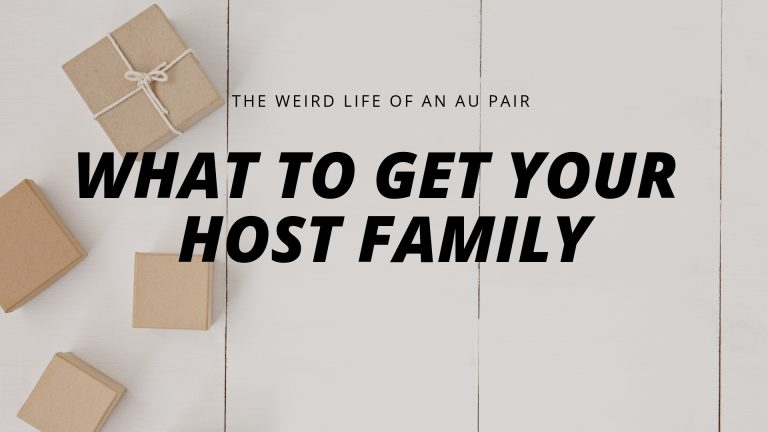 What to get your Host Family